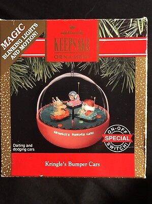 1991 Hallmark Ornament Kringle's Bumper Cars