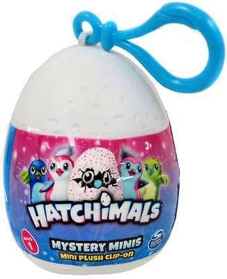 Hatchimals Mystery Minis Plush Clip-On - Assorted -  New Sealed - AU Seller