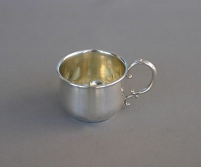 Antique Sterling Silver Baby Cup