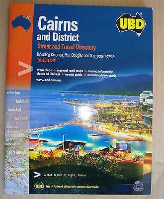 UBD Street Directory for CAIRNS and District 7th edition Free Post
