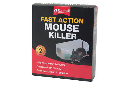 Renasan Fast Action Mouse Killer - Twin Pack - Rodenticides