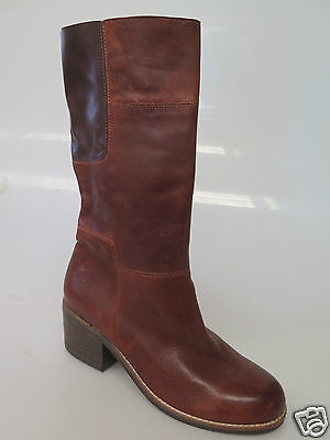 Django & Juliette - new ladies leather ankle boot size 37 #161 *CLEARANCE*