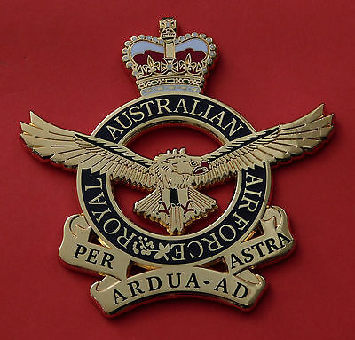 Royal Australian Air Force Qc Large Size For Plaques Framing Display 75Mm High