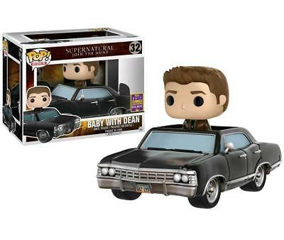 Supernatural Baby with Dean SDCC 2017 Exclusive Pop! Vinyl Rides Figure
