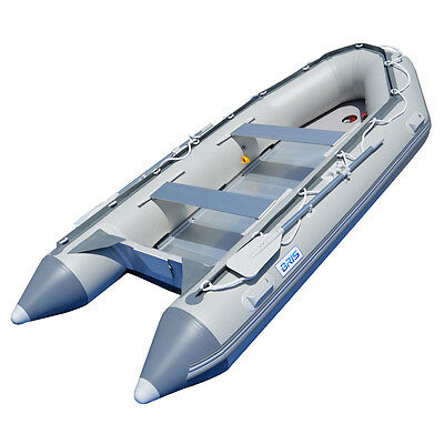 1.2mm PVC 4.3M Inflatable Boat Inflatable Dive &Fishing Boat Raft Power  Boat