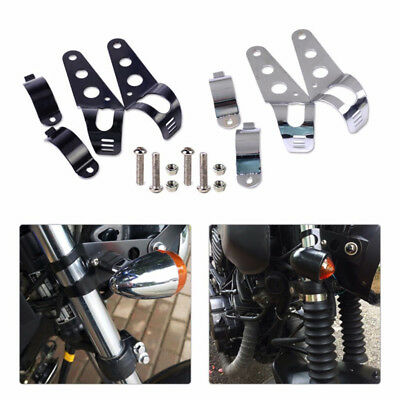 Motorcycle Head Lamp Holder Headlight Mounting Brackets Fork For 35MM-43MM New