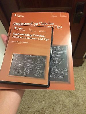 Great Courses Understanding Calculus: Problems Solutions and Tips DVD set / Book