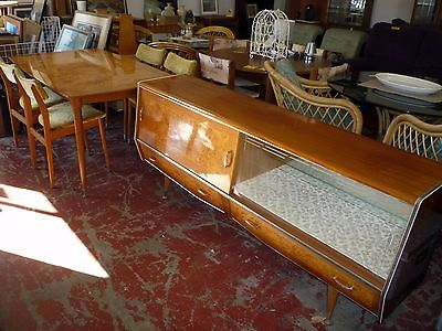 1960s RETRO VINTAGE Stunning Sideboard Buffet with Matching Table & 4 Chairs