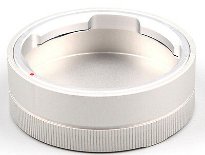 silver Rear Lens Cap fits For  LEICA M Mount Camera Lenses X 1