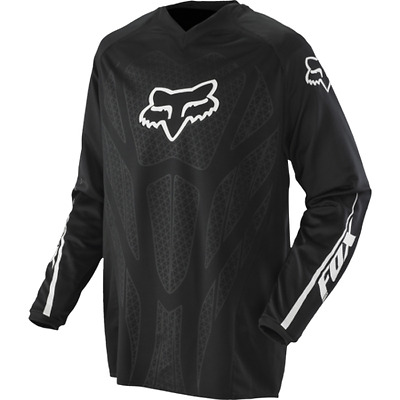 Fox Racing Blackout Jersey Mx Motorcross Black Mens S M L Youth S M Bnwt