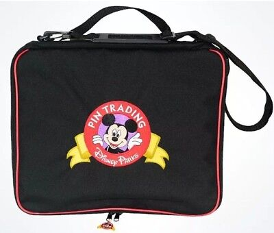 DISNEY PARKS MICKEY MOUSE PIN TRADING BAG NEW WITH TAGS Large Size