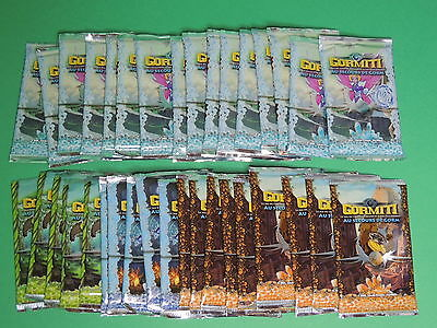 Lot 34 booster - paquet de 9 cartes collection card : Gormiti au secour de Gorm