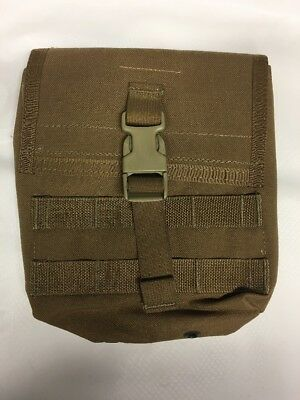 Molle 200rd Saw-Utility Pouch: Coyote Brown