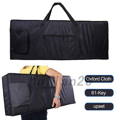 61-Key Keyboard Electric Piano Padded Case Bag Oxford Cloth Adjustable Strap