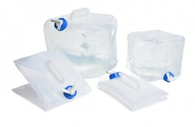 navyline Folding Container with Cock Water Tank Fresh Camping Travel