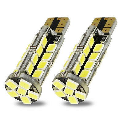 2x W5W T10 Wedge 194 168 LED Bulbs For Car Interior Parking OutDoor 38SMD 2835