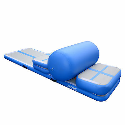 Inflatable Air Training Set Gymnastics Mat Home Training Roller Mat for GYM