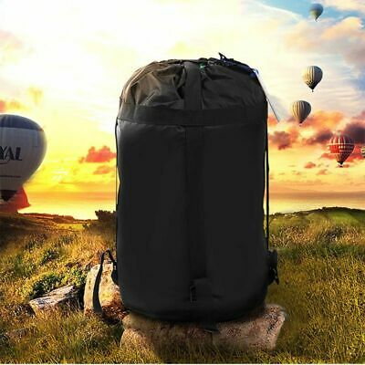 AU Compression Sack Sleeping Bag Cover Pouch Clothing For Outdoor Camping Hiking