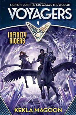 Voyagers: Infinity Riders (Book 4),HC,Kekla Magoon - NEW