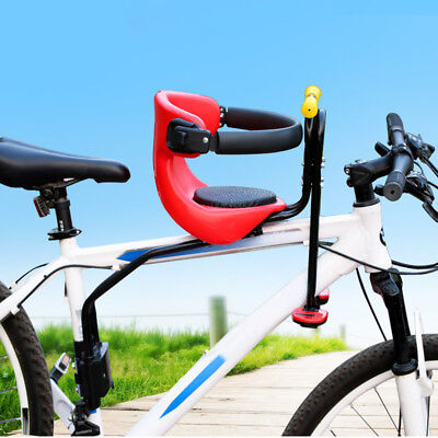 Safety Child Baby Kids Bike Bicycle Cycle Front Seat Carrier With Handrail Bike