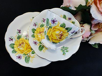 "Beautiful Vintage Royal Standard ""Floral Grandeur"" Trio"
