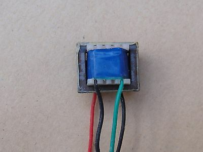 NOS, Transistor, Blue, 4 Lead, Audio Output Transformer