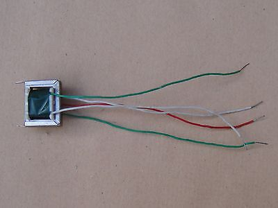 NOS, Green, Five Lead, Transistor Push Pull Audio Output Transformer