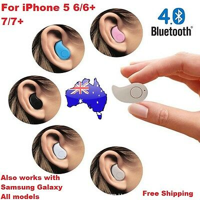 Wireless Bluetooth Headphone Earphone for iPhone 7 Plus 5 6 6S Galaxy Edge Note