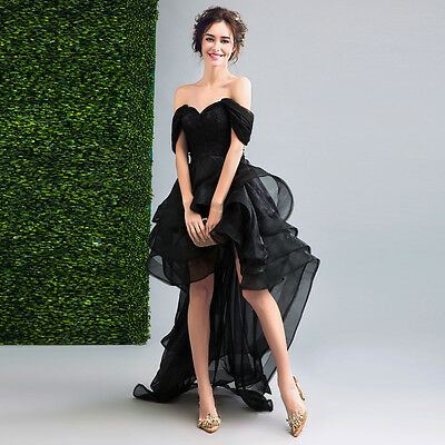 Magic Black Bridesmaid Dresses Wedding Formal Party Prom Dress Evening Ball Gown