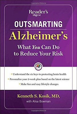 Outsmarting Alzheimers: What You Can Do to Reduce Your Risk,HC, - NEW