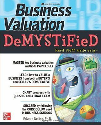 Business Valuation Demystified,PB,Edward Nelling - NEW