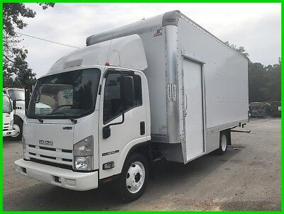 2013 Isuzu NPR HD 20 Foot Box *Low Miles, 82,109* Walk-Up Ramp Southern Run