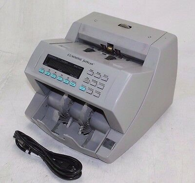 Cummins Jetscan Currency Counter Model 4065 - Counts Mixed Bills / Notes
