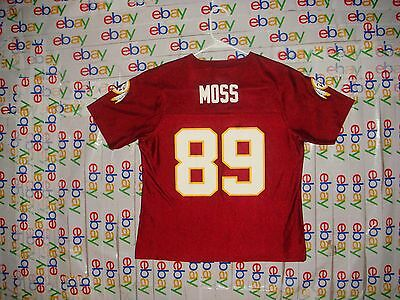 newest 27c3a fe82f WASHINGTON REDSKINS SANTANA Moss #89 Kids 2T Reebok NFL ...