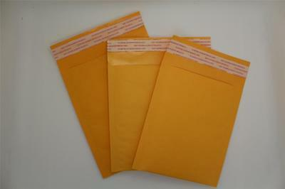 100 A/000 Small (110*160Mm)Gold Strong Padded Bubble Lined Envelope Postal Bags