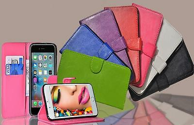 Luxury PU Leather Magnetic Flip Stand Book Wallet Case Cover For Apple iPhone