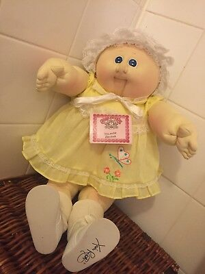 Soft Sculpture Cabbage Patch Baby