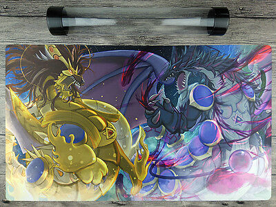 Dragons of Yang Zing YuGiOh WCQ/WCS/YCS/JUDGE TCG Custom Playmat Free Best Tube