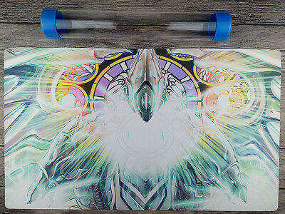 Neo Blue-Eyes Ultimate Dragon YuGiOh WCS/WCQ Playmat Free High Quality Tube