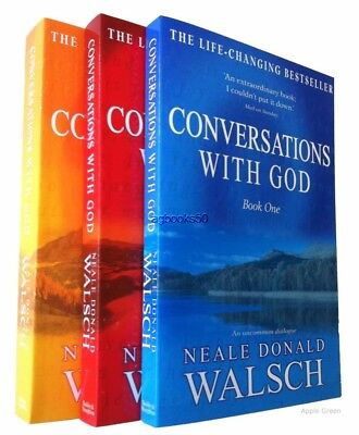Conversations With God Trilogy 3 Books Neale Donald Walsch Book 1 2 3  New