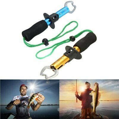 Portable Fishing Gripper Stainless Steel Fish Lip Grabber Grip Fishing Tackle