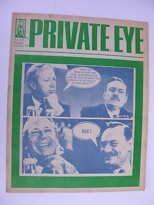 PRIVATE EYE 1970 19 June No 222 Ted Heath & Enoch Powell - Virgin Records