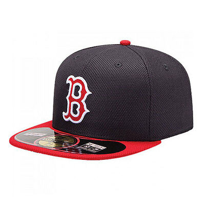 Boston Red Sox Diamond New Era MLB 59FIFTY [5950] Fitted Cap