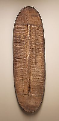 RARE - Antique Woven African Shield