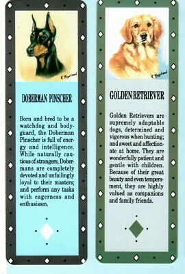 Golden Retriever Puppies Bookmark AD-GR56BM Book Mark Christmas Stocking Fille