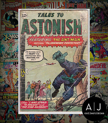 Tales to Astonish #37 (  Marvel  ) LOW GRADE READER COPY! HIGH RES SCANS!