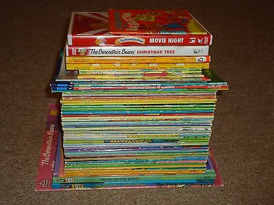 Lot 51 The Berenstain Bears 49 Books 2 DVDs Stan Jan Berenstain Mike Chapter
