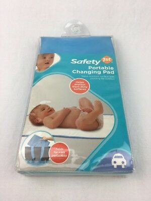 Safety 1St Portable Changing Pad -Blue