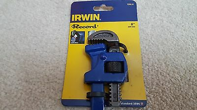 "Irwin Record Stillson Pipe Wrench 8"" (200mm)"