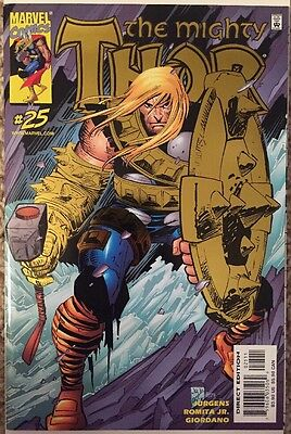Thor Volume 2 #25 (July 2000, Marvel) Foil Cover